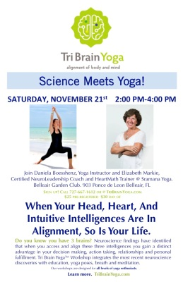 Tri Brain at Sramana Yoga